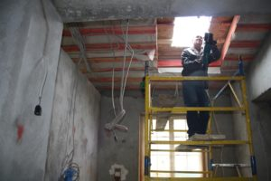 строительство фундамента каркасного дома