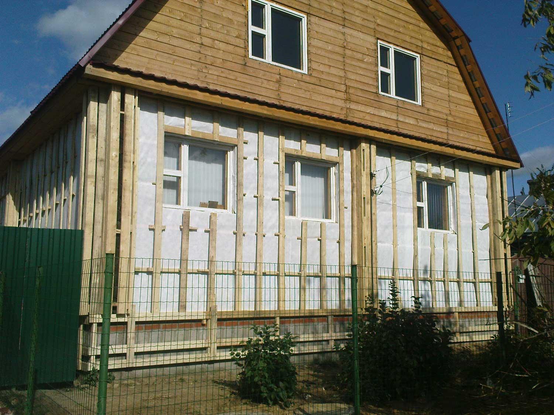 сайдинг на деревянный дом своими руками
