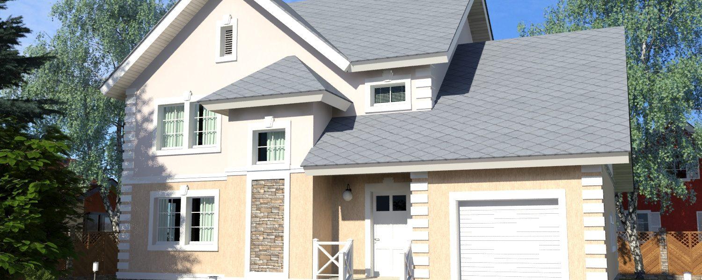 строительство дома в Айбутово