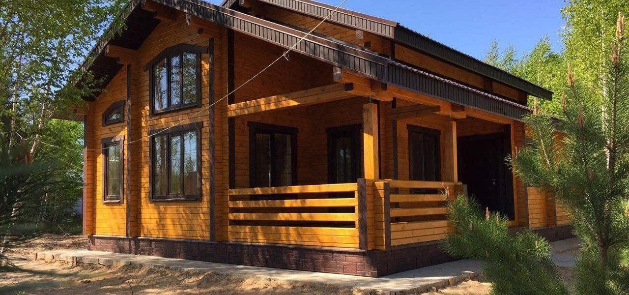 строительство дома в Акулинино