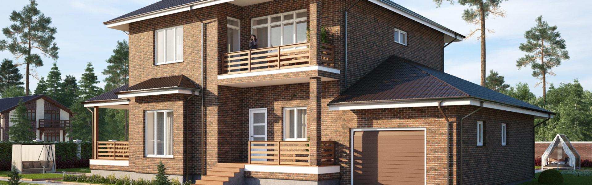 строительство дома в Акулово