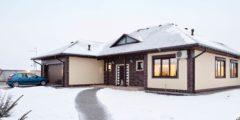 строительство частных домов из бревна