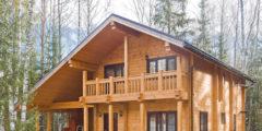 строительство частных домов из бруса