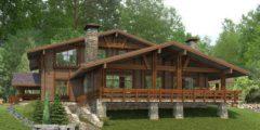 строительство элитных домов под ключ проекты